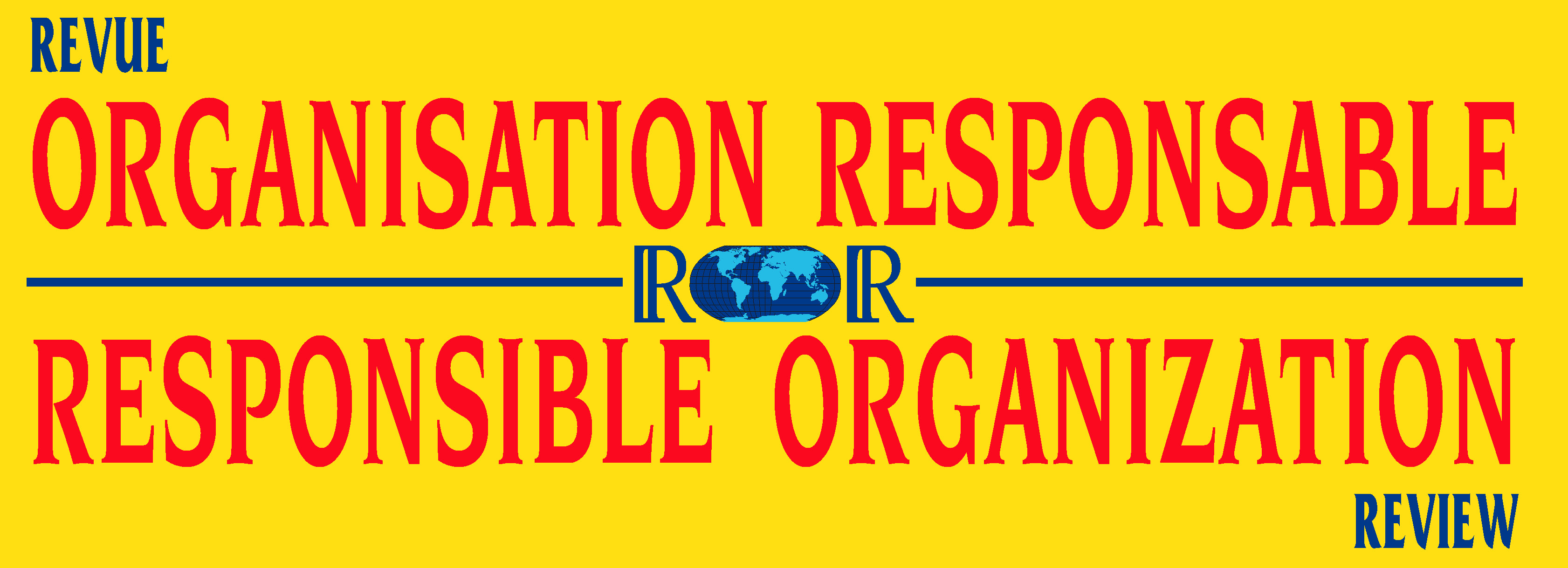 ORGANISATION RESPONSABLE